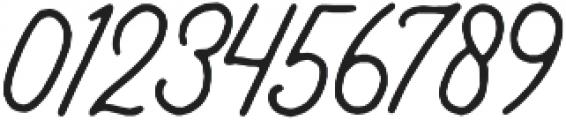 Bertobe Script otf (400) Font OTHER CHARS