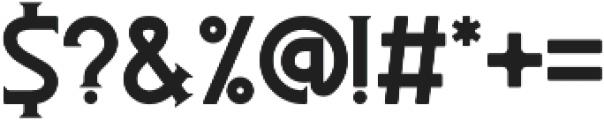 Besitoea otf (400) Font OTHER CHARS
