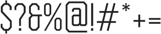 Bessemer Light otf (300) Font OTHER CHARS