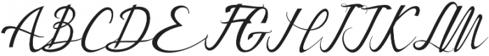Bestalia otf (400) Font UPPERCASE