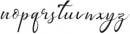 Bestalia otf (400) Font LOWERCASE