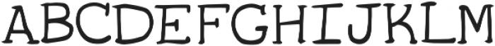 Bestkind ttf (400) Font UPPERCASE