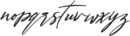 Bestowens Family otf (300) Font LOWERCASE