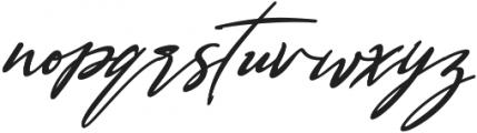 Bestowens Family otf (400) Font LOWERCASE
