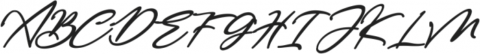 Bestowens Family otf (700) Font UPPERCASE