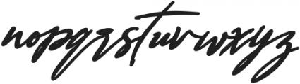 Bestowens Family otf (700) Font LOWERCASE