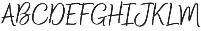 Bethadyn otf (400) Font UPPERCASE