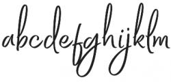 Bethadyn otf (400) Font LOWERCASE