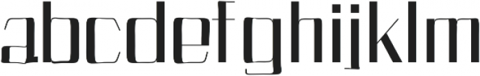 Bethan otf (400) Font LOWERCASE