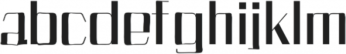 Bethan otf (700) Font LOWERCASE