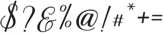 Bethanya Regular otf (400) Font OTHER CHARS