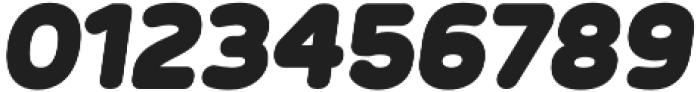 Betm Rounded ExtraBlack Italic otf (900) Font OTHER CHARS