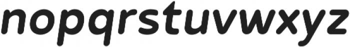 Betm Rounded Medium Italic otf (500) Font LOWERCASE