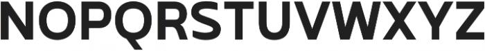 Betm SemiBold Italic otf (600) Font UPPERCASE