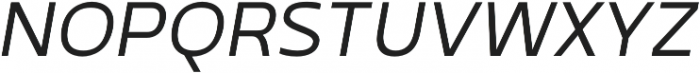 Betm SemiBold otf (600) Font UPPERCASE