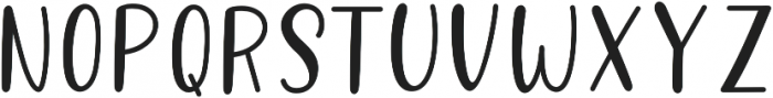 Better Caramel Sans Bold otf (700) Font UPPERCASE