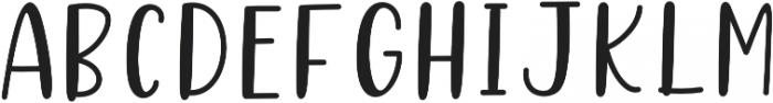 Better Caramel Sans Bold otf (700) Font LOWERCASE