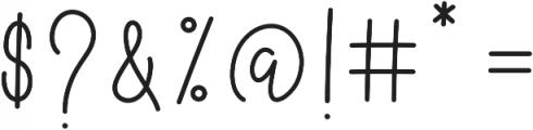 Better Caramel Sans otf (400) Font OTHER CHARS