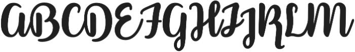 Better Phoenix otf (400) Font UPPERCASE