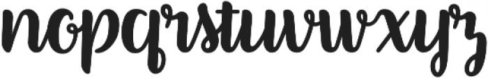 Better Phoenix otf (400) Font LOWERCASE
