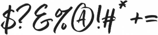 Better Times Regular otf (400) Font OTHER CHARS