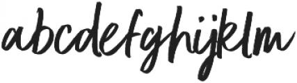 Better Times Regular otf (400) Font LOWERCASE
