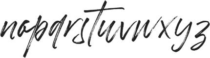 Betterworks otf (400) Font LOWERCASE