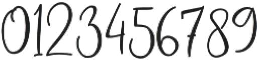 Bettina otf (400) Font OTHER CHARS