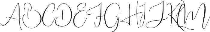 Bettina otf (400) Font UPPERCASE