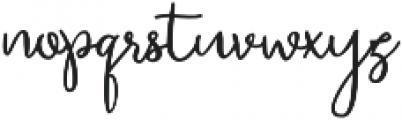 Bettina otf (400) Font LOWERCASE