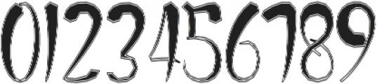 BettosOutline otf (400) Font OTHER CHARS