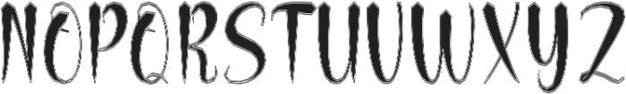 BettosOutline otf (400) Font UPPERCASE