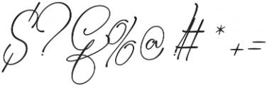 Bettylavia otf (400) Font OTHER CHARS