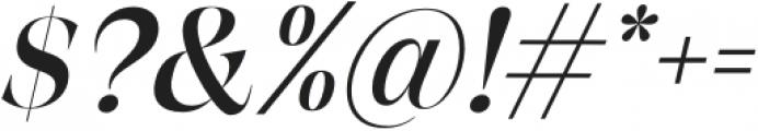 BetweenDays-Italic otf (400) Font OTHER CHARS