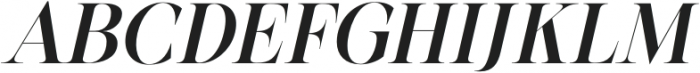 BetweenDays-Italic otf (400) Font UPPERCASE