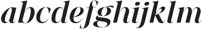 BetweenDays-Italic otf (400) Font LOWERCASE
