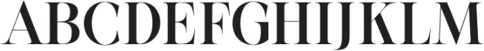 BetweenDays-Regular otf (400) Font UPPERCASE