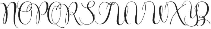 Beyond March - Kestrel Montes otf (400) Font UPPERCASE