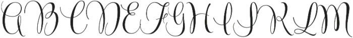 Beyond March by Kestrel Montes otf (400) Font UPPERCASE