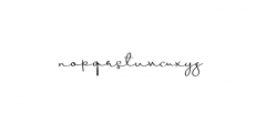 Beauty Script Font LOWERCASE