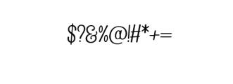 Begold.ttf Font OTHER CHARS
