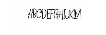 Begold.ttf Font UPPERCASE