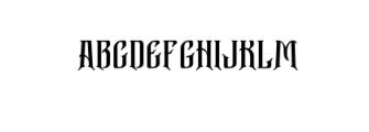 Bekelakar-Allcaps.otf Font UPPERCASE
