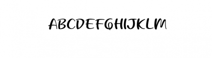 Beloved Teacher.ttf Font UPPERCASE