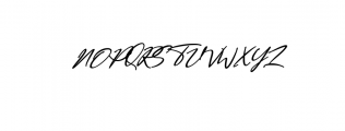 Bestowens family Font UPPERCASE