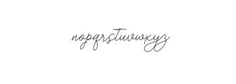 bekafonte.otf Font LOWERCASE