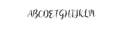 bentho Font UPPERCASE