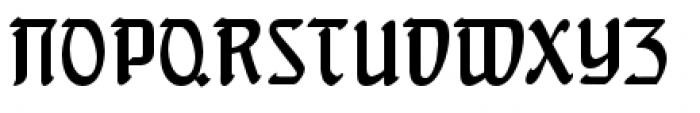 Behrens Schrift Font UPPERCASE