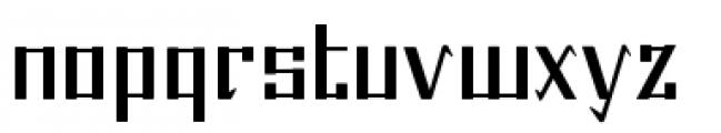 Beijing Font LOWERCASE