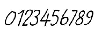 Betula Italic Font OTHER CHARS